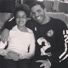 Drake visita por sorpresa a una niña de 15 años enferma de cáncer