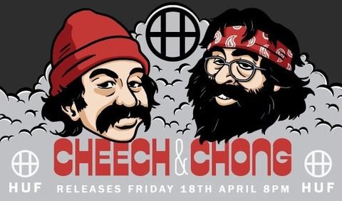 Colección Cheech & Chong x HUF 2014