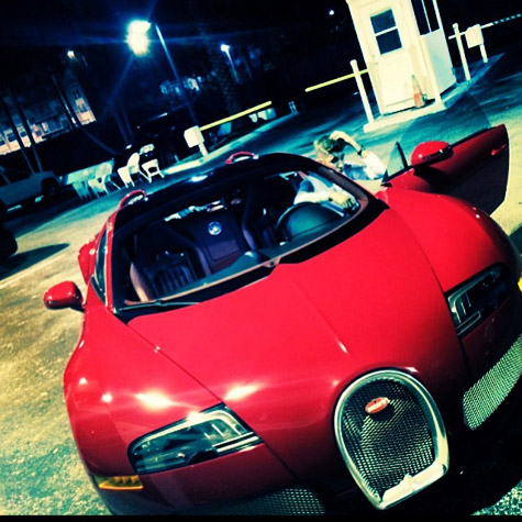 Justin Bieber new nuevo Bugatti Veyron Birdman