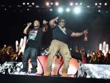Juicy J, Busta Rhymes, Too $hort y E-40 acompañan a Girl Talk en Coachella 2014