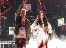 Eminem y Rihanna interpretan «The Monster» en los MTV Movie Awards