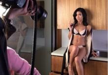 Jhené Aiko posa ligera de ropa para la revista GQ