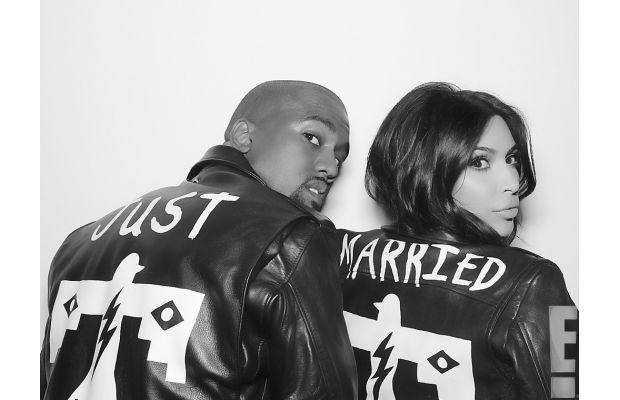 Kanye West y Kim Kardashian presentan las imágenes oficiales de su boda