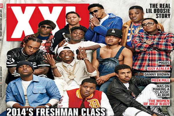 XXL presenta a los freshmen del 2014