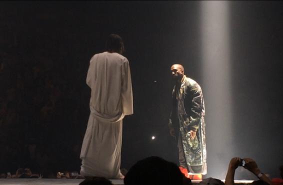 """Kanye West inicia su gira """"Yeezus"""" junto a Kendrick Lamar y el mismísimo Jesucristo"""