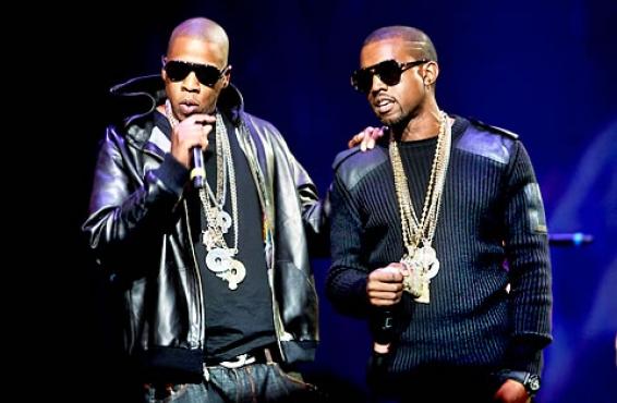Kanye West & Jay-Z – Watch the Throne (Portada)