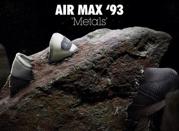 Size? x Nike Air Max 93 «Metals»