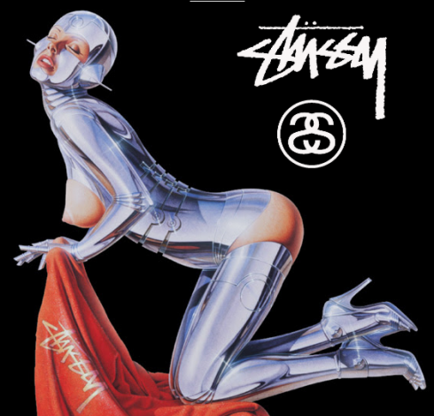 Stussy x Hajime Sorayama – Guest artist T-shirt series