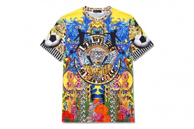 La camiseta de Versace para el Mundial de Brasil