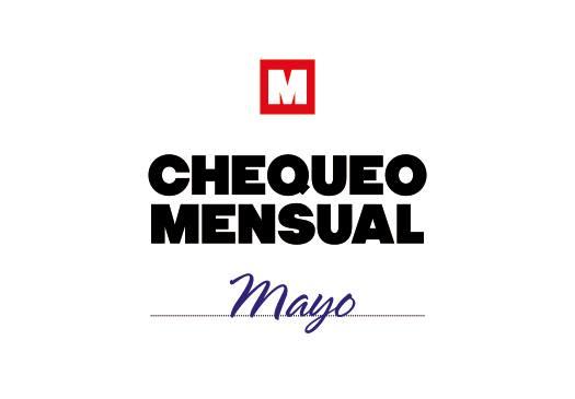Chequeo mensual: mayo