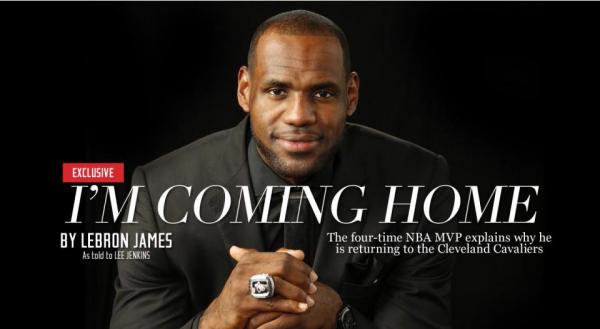 El mundo del Hip Hop reacciona ante la vuelta de LeBron James a Cleveland Cavaliers