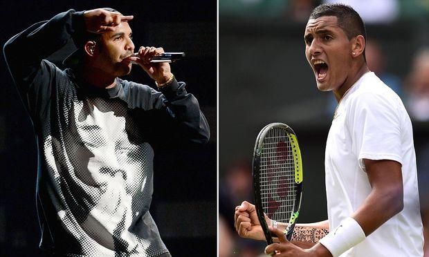 El tenista Nick Kyrgios culpa a la música de Drake del mal comienzo de su partido en Wimbledon