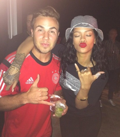 Rihanna Alemania fiesta 1