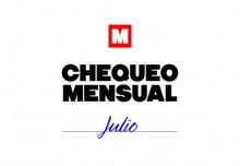 Chequeo mensual: julio