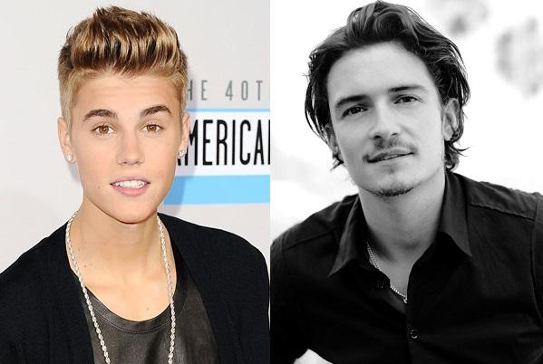 Orlando Bloom intenta darle un puñetazo a Justin Bieber en Ibiza