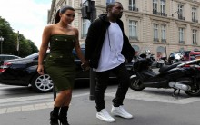 Love Birds Kim Kardashian And Beau Kanye West Head Out Together In Paris