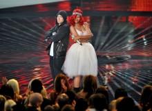 Eminem y Rihanna interpretan 'I Love The Way You Lie' y 'Stan' en el Lollapalooza Festival
