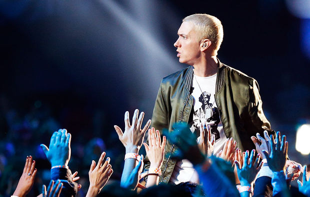 Eminem consigue el récord Guinness de más palabras usadas en un éxito musical