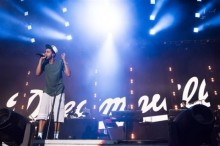 Actuación de J. Cole en el Made in America 2014
