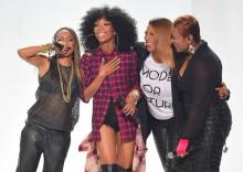 Brandy, Queen Latifah, MC Lyte y Yo-Yo actúan en los BET Hip Hop Awards