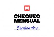 Chequeo mensual: septiembre