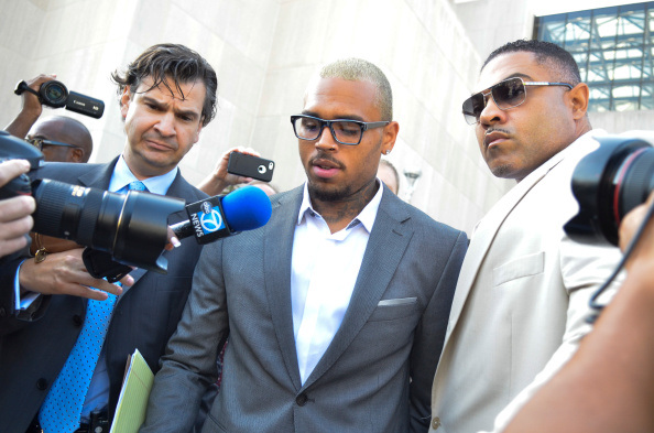chris brown pleads guilty getty - Chequeo mensual: septiembre