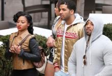 Una modelo llama a la policía tras ser amenazada por Drake