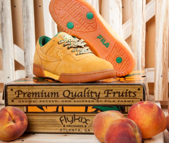Fly Kix x FILA Original Fitness 'Peach State'