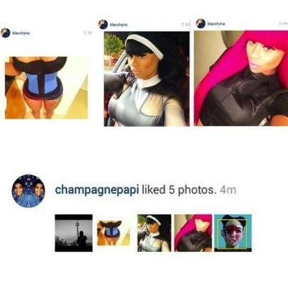 Drake blac chyna