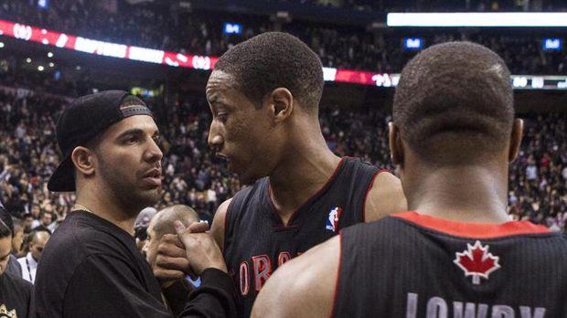 La estrella de Toronto Raptors Demar DeRozan afirma que Drake lanzará una mixtape en enero