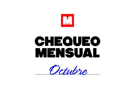 Chequeo mensual: octubre