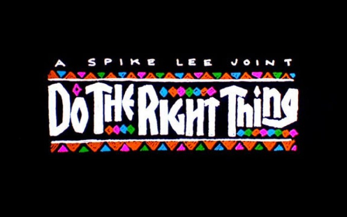 «Do The Right Thing»