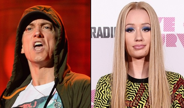 Eminem rapea sobre violar a Iggy Azalea y la australiana contesta
