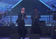 pitbull time of our lives live jimmy kimmel