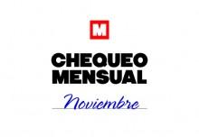 Chequeo mensual: noviembre