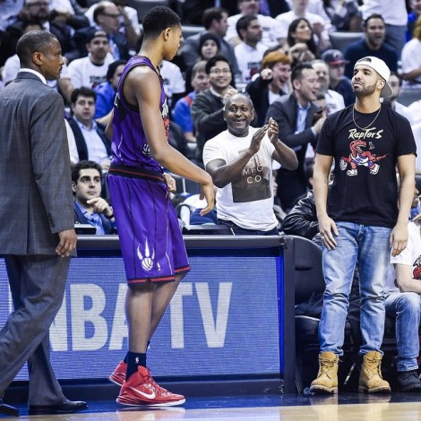 Drake vuelve a ser el protagonista en la segunda 'Drake Night' de los Toronto Raptors