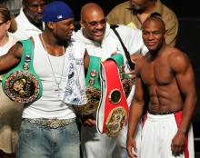 50 Cent asegura que Mayweather y Pacquiao no se enfrentarán