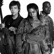 Rihanna, Kanye West & Paul McCartney – FourFiveSeconds