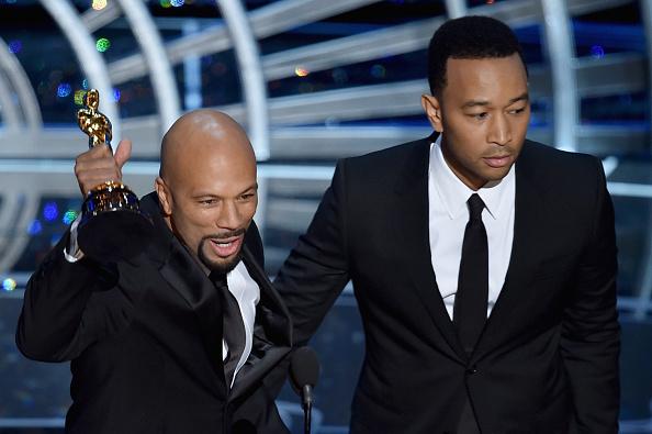 Common y John Legend ganan el Oscar a mejor canción original por 'Glory'