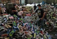 destrucción sneakers