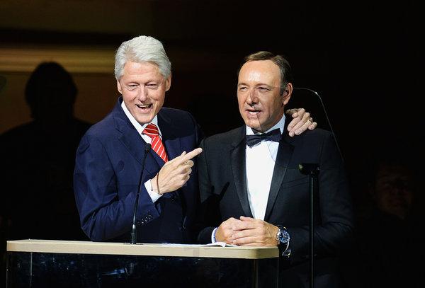 Bill Clinton declara que lo que ocurre en la serie 'House Of Cards' es casi 100% real