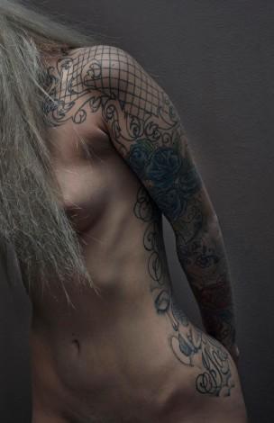 Amina Blue Naked