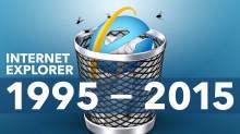 Internet Explorer consigue la eutanasia