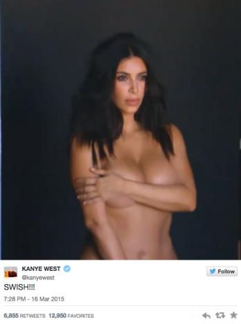Has Visto Las Fotos De Kim Desnuda Que Kanye Ha Publicado En Twitter