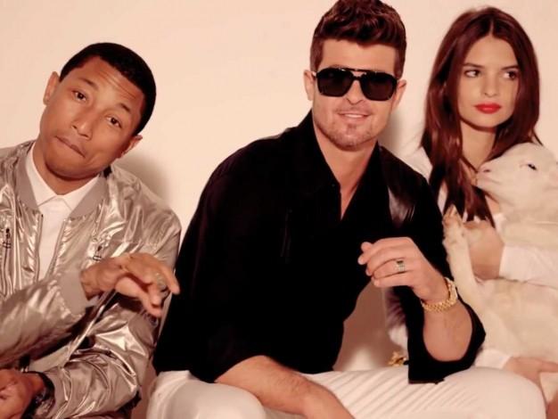 Pharrell y Robin Thicke condenados a pagar 7 millones a la familia de Marvin Gaye por 'Blurred Lines'