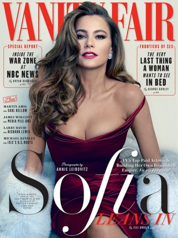 1428673527 extras albumes 0 352x470 - Sofía Vergara posa para Annie Leibovitz en Vanity Fair