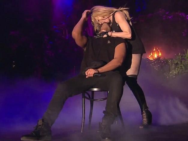 Drake actúa en el Coachella y termina liándose con Madonna