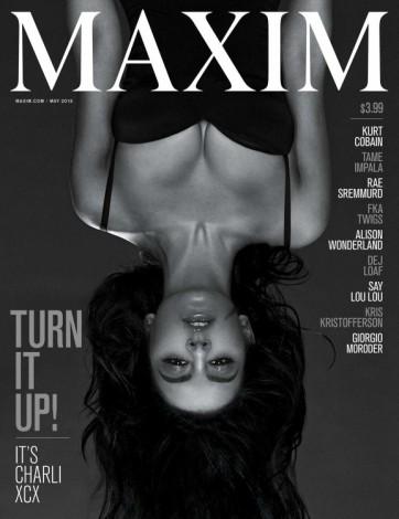 c41 362x470 - Charli XCX posa para la portada de mayo de MAXIM