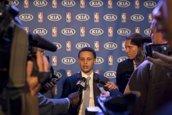 Stephen Curry es nombrado MVP de la temporada