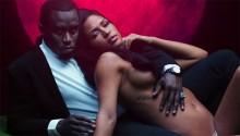 Diddy y Cassie al desnudo para promocionar su fragancia '3AM'